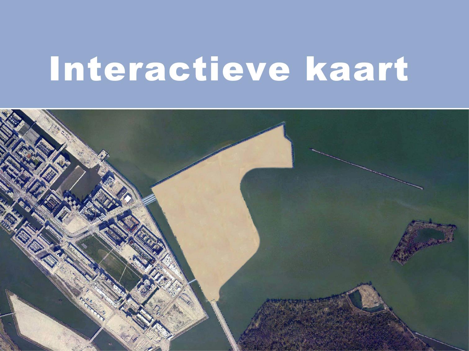 Interactieve kaart